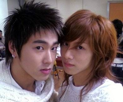 with Yunho DBSK-like a couple huh?